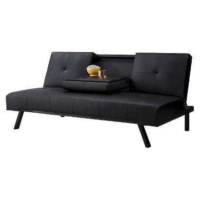 Convertible Sofa: Wynn Cupholder Futon