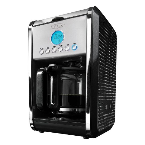 Bella Dots Collection 12 Cup Programmable Coffee Maker – Assorted Colors