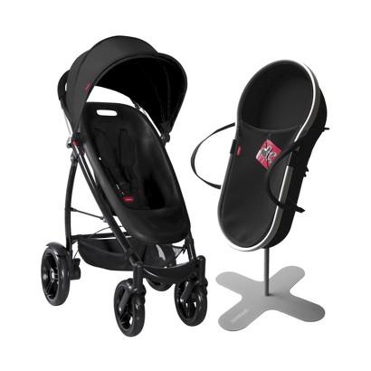 phil&teds Smart Bassinet and Stroller Bundle - Black