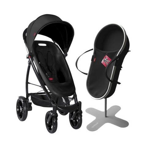 phil&teds Smart Bassinet and Stroller Bundle - Black