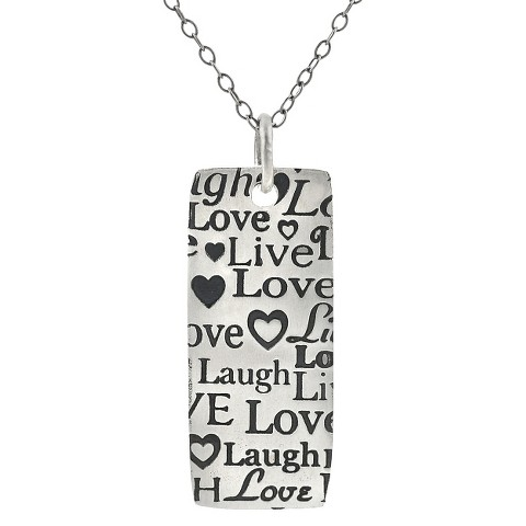 Sterling Silver Necklace - Silver