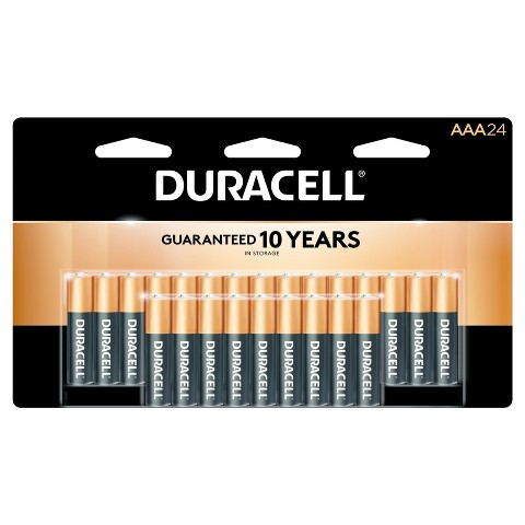 Duracell Coppertop AAA - 24 Count