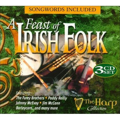 A Feast of Irish Folk (Harp)