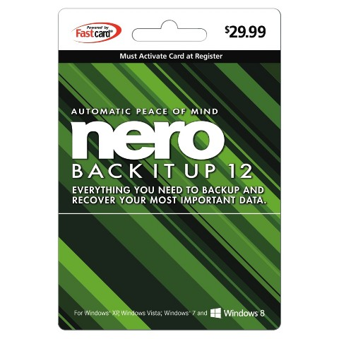 Nero Back It Up Pre-Paid Software Card - $29.99