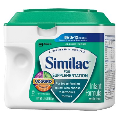 Similac® for Supplementation Powder - 1.45lb (4 pack)