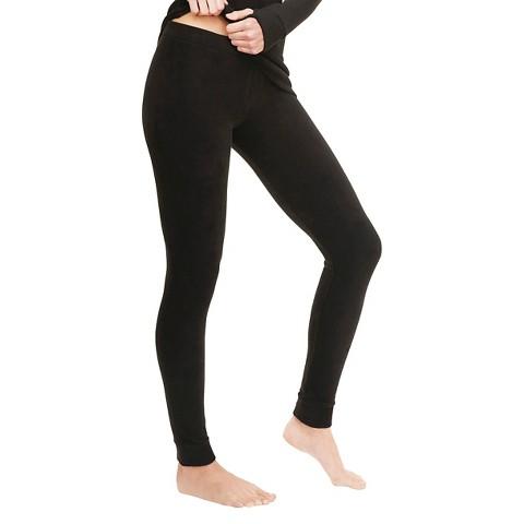 Warm Essentials® by Cuddl Duds® Women's Stretch Fleece Thermal Legging