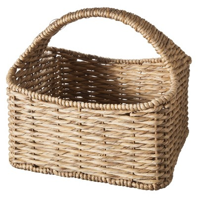Smith & Hawken™ Strap Handle Decorative Basket