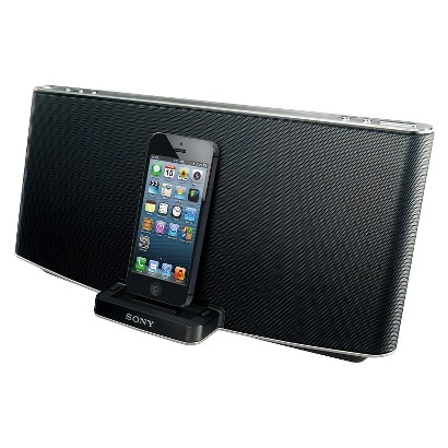 Sony Speaker Dock for iPod/iPhone 8 pin - Black (RDPX200IPN)