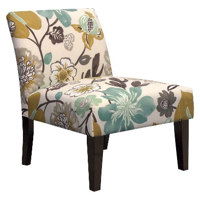 Avington Upholstered Slipper Chair - Gorgeous Pearl