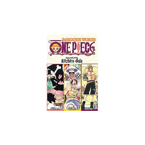 One Piece: Baroque Works 16-17-18 ( One Piece) (Paperback)