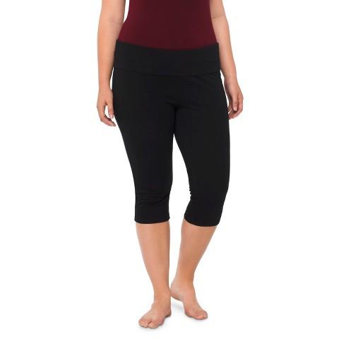 Plus Size Capri Pants Black-Mossimo Supply Co