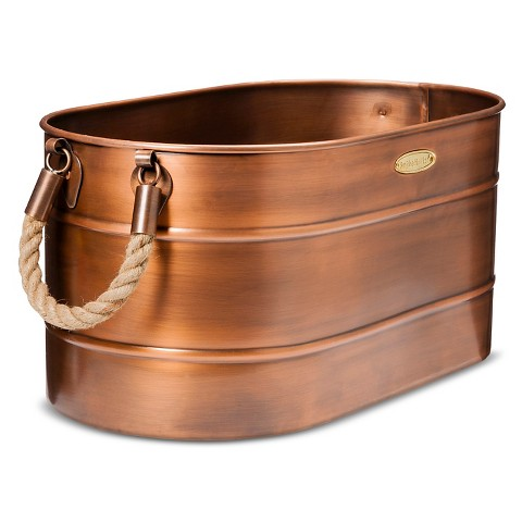 Smith & Hawken® Log Holder with Rope Handles 10x13x23""