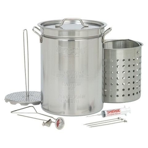 Bayou® Classic Stainless Turkey Fryer - 32 Qt.