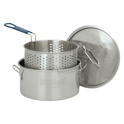Bayou® Classic Stainless Fry Pot - 14 Qt.