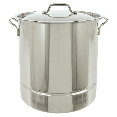 Bayou® Classic Stainless Tri-Ply Stockpot - 32 Qt.