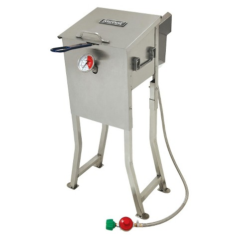 Bayou® Classic Stainless Fryer - 2.5 Gal.