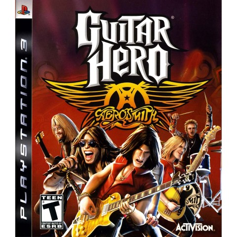 Guitar Hero Aerosmith PRE-OWNED (PlayStation 3)
