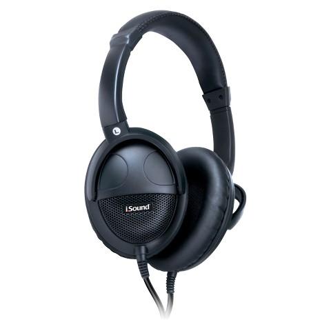 i.Sound HP-600 Simulated Surround Headphone - Black (DGHP-5550)