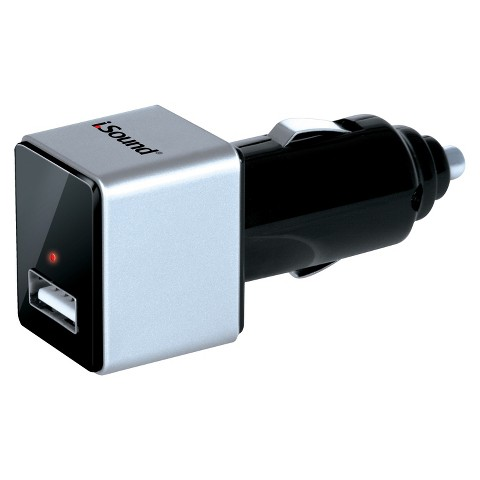i.Sound USB Car Charger Pro (ISOUND-2144)