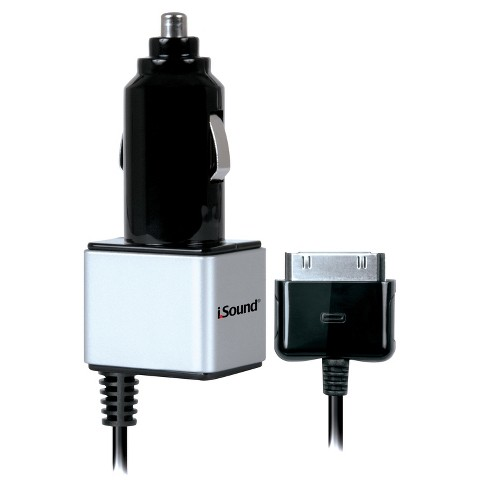 i.Sound Car Charger Pro with 30 Pin (ISOUND-2147)