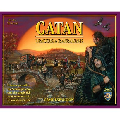 Mayfair Games Catan Traders and Barbarians Expansion Card Game