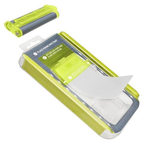 PureGear Roll-On Screen Shield Kit Cell Phone Case for iPhone®5 - Green (39571TGW)