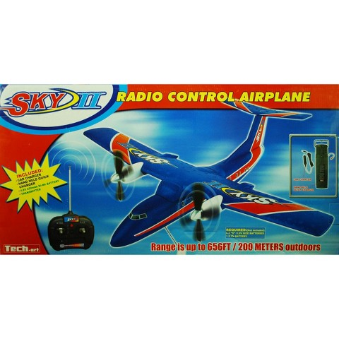 Sky II Radio Control Airplane - Blue