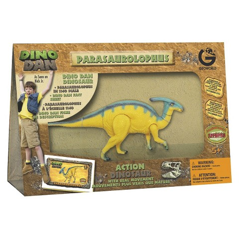 Geoworld DINO™ Dan Parasaurolophus Action Dinosaur Figure