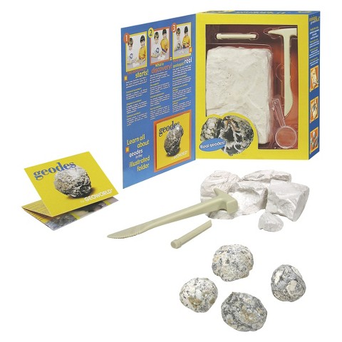 Geoworld Geodes mining kit™