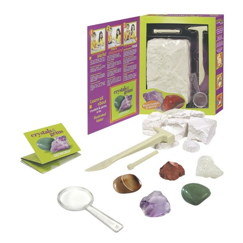 Geoworld Crystals and Gems mining kit™