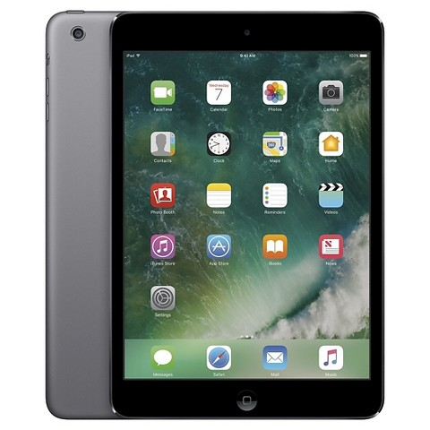 Apple® iPad Mini 2 16GB Cell (Sprint) - Space Gray/Black (MF070LL/A)