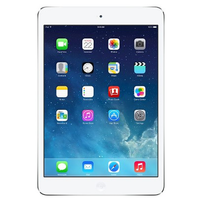 Apple® iPad mini with Retina display 128GB Wi-Fi - Silver/White (ME860LL/A)