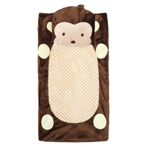 CoCaLo Plushy Monkey Changing Pad Cover