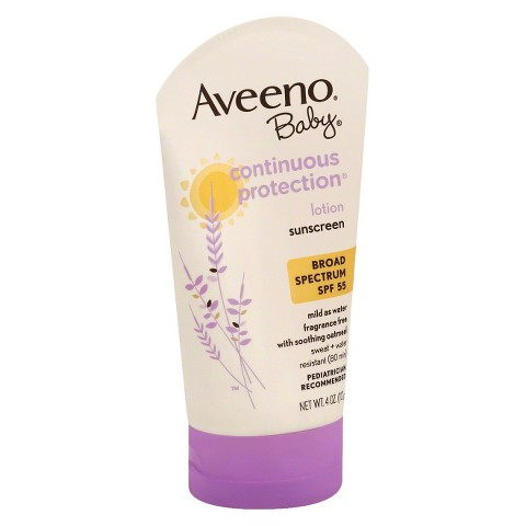 Aveeno Baby Continuous Protection Sunscreen 4 oz