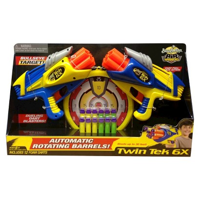 Air Blasters Twin Tek 6X Dart Guns