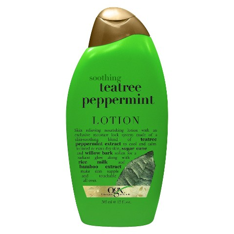 OGX TeaTree Peppermint Body Lotion - 13 oz