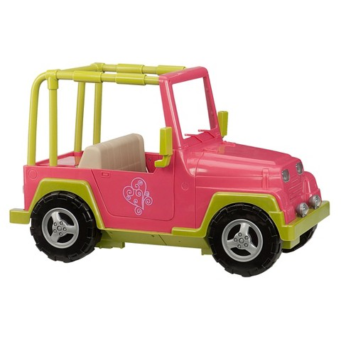 Our Generation 4 X 4 Car (Pink)