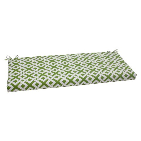 Outdoor Bench Cushion - Boxed In Geometric