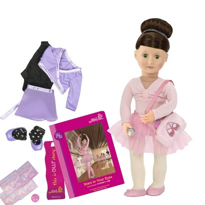 Our Generation Deluxe Doll with Book - Sydney Lee