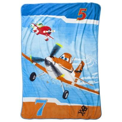 Disney® Planes Blanket - Blue