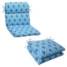Outdoor Cushion & Pillow Collection - Blue/Wh...
