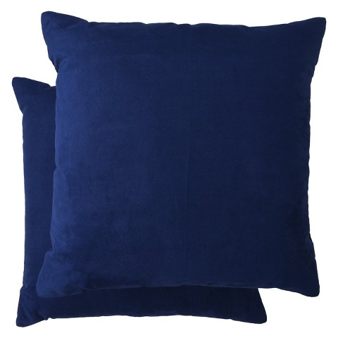 """Room Essentials™ Suede Pillow 2-Pack (18x18"""")"""