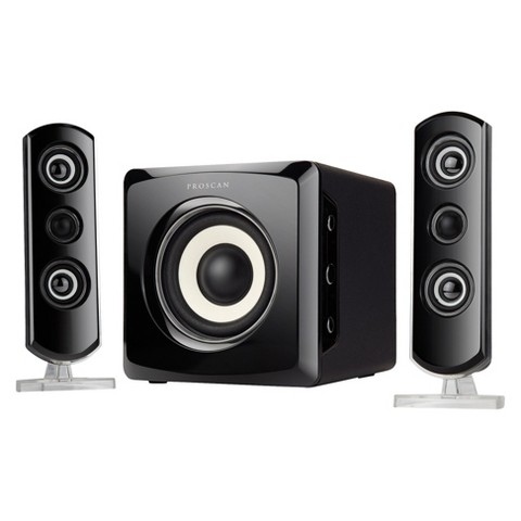 Sylvania 2.1 Home Speaker System - Black
