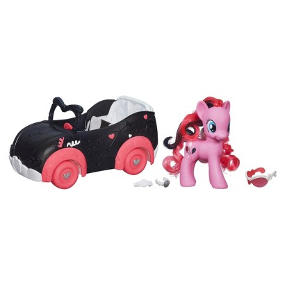 My Little Pony Pinkie Pie's Boutique Pink & Fabulous Pony Car