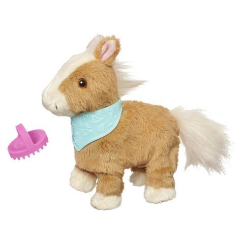 FurReal Friends Snuggimals Walkin' Ponies Shimmer Sky Pet