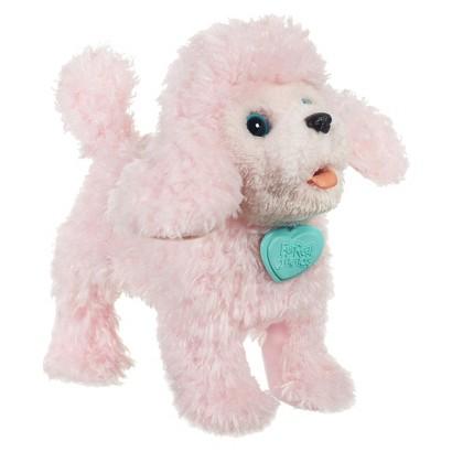 FurReal Friends Walkin' Puppies PomPom Poodle Pet