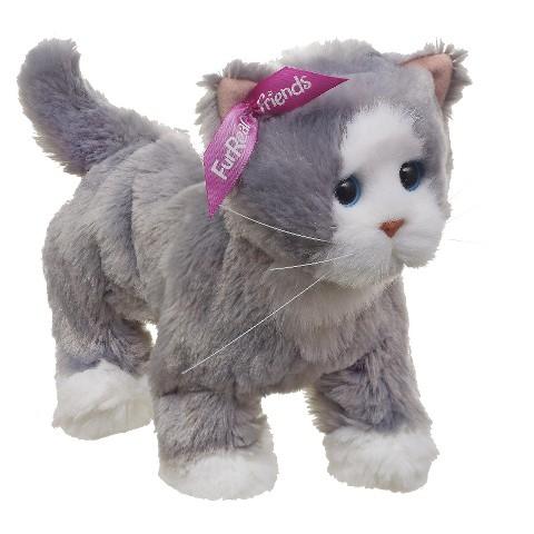 Furreal Friends Lulu's Walkin' Kitties Bootsie Pet - Grey/White