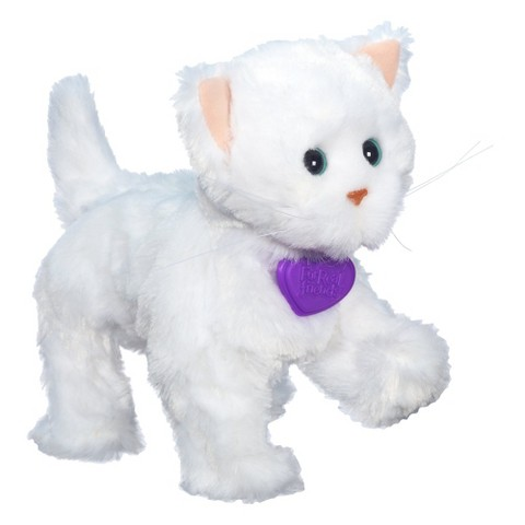 Furreal Friends Lulu's Walkin' Kitties Sugar Paws Pet - White