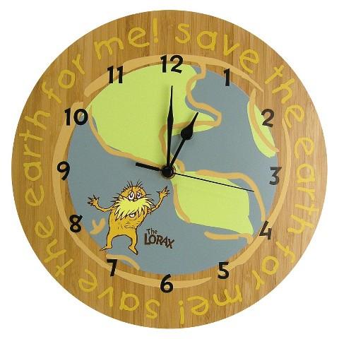 Trend Lab THE LORAX WALL CLOCK