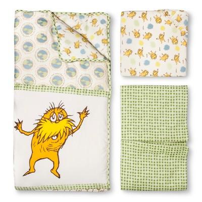 Dr. Seuss by Trend Lab 3pc Crib Bedding Set - Lorax